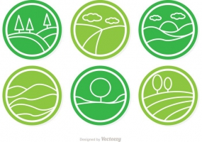 285x200 Rolling Hills Icon Free Vector Graphic Art Free Download (Found