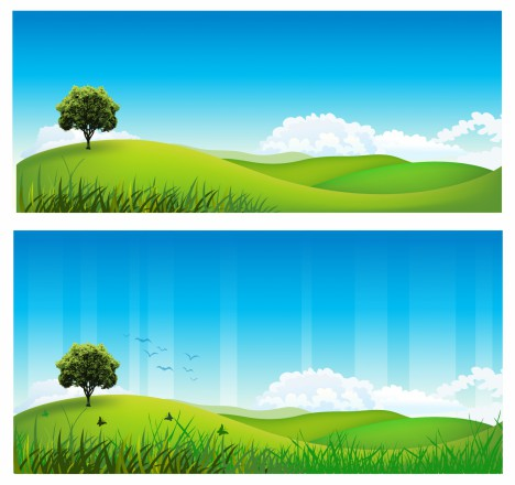 468x440 Rolling Hills Vectors Stock In Format For Free Download 12.95mb