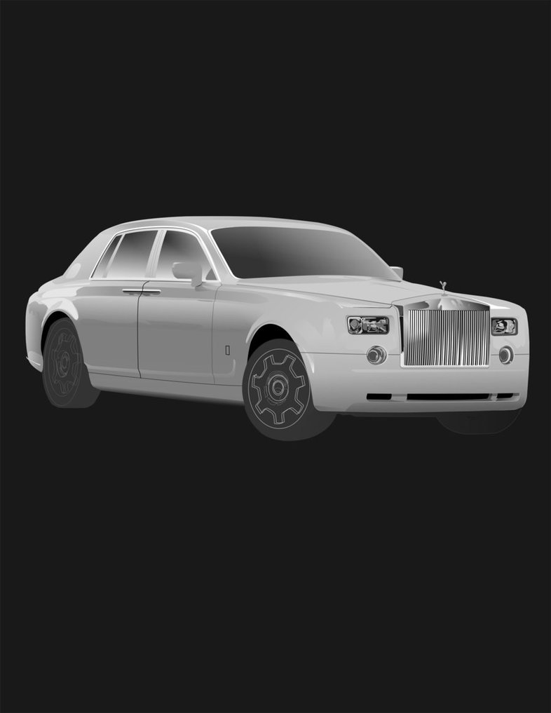 786x1017 Rolls Royce Vector By Matim01