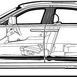 300x300 Rolls Royce Ghost Sedan Blueprints Lazttweet