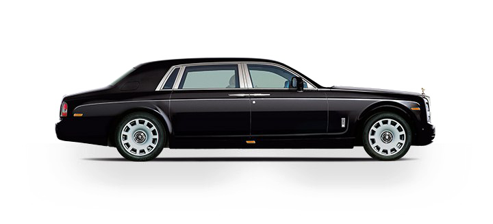 720x327 Black Rolls Royce Png Transparent Image