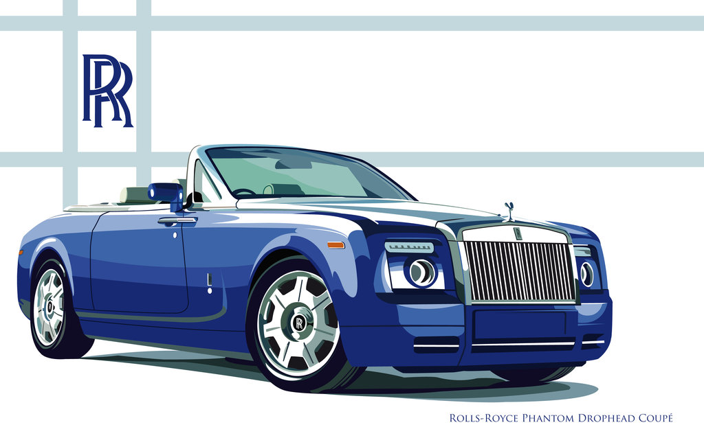 1024x622 Rolls Royce Coupe Vector By Xeonos