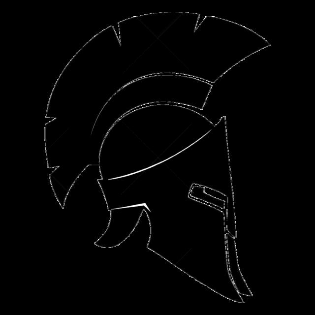 Roman Helmet Vector