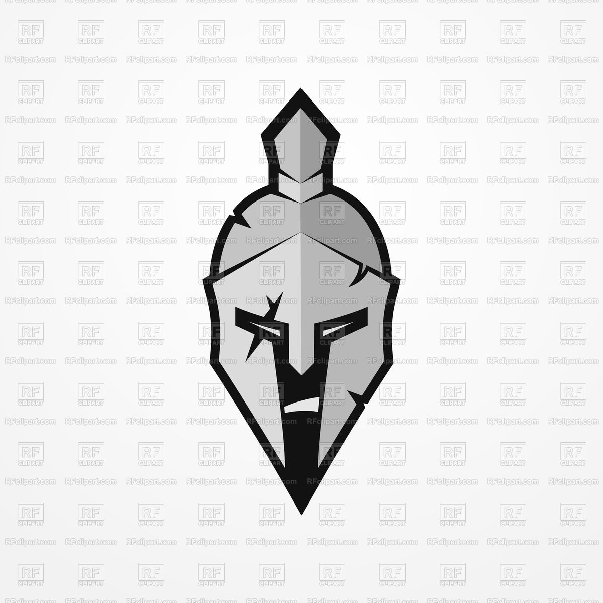 1200x1200 Furious Face Of A Roman Warrior In Battle Helmet Vector Image