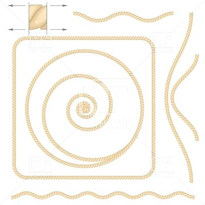 400x400 Rope Frame Rope Border Vector Free Thecolumbia.club