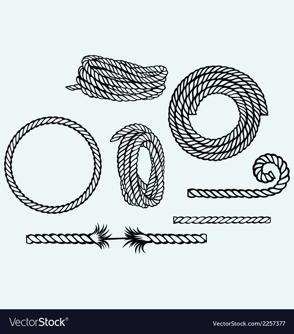 949x1080 Drawn Rope Free Vector