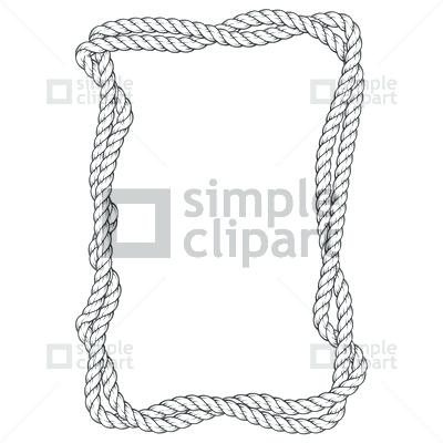 400x400 Rope Frame Rope Border Vector Art Free Thecolumbia.club