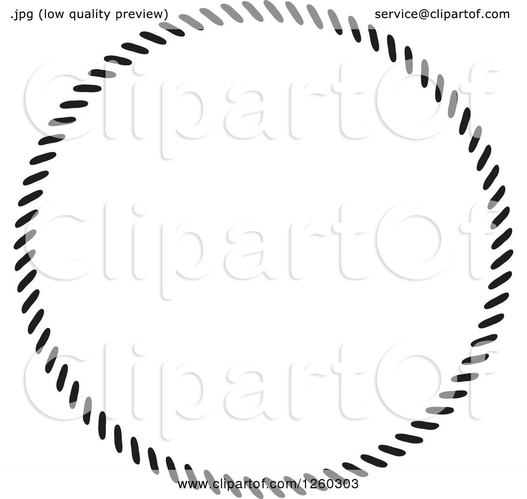 1080x1024 Clipart Of A Black And White Nautical Rope Frame Royalty Free