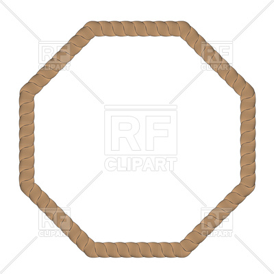 400x400 Rope Frame Vector Image Vector Artwork Of Borders And Frames