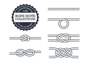 286x200 Isolated Rope Vectors Pack