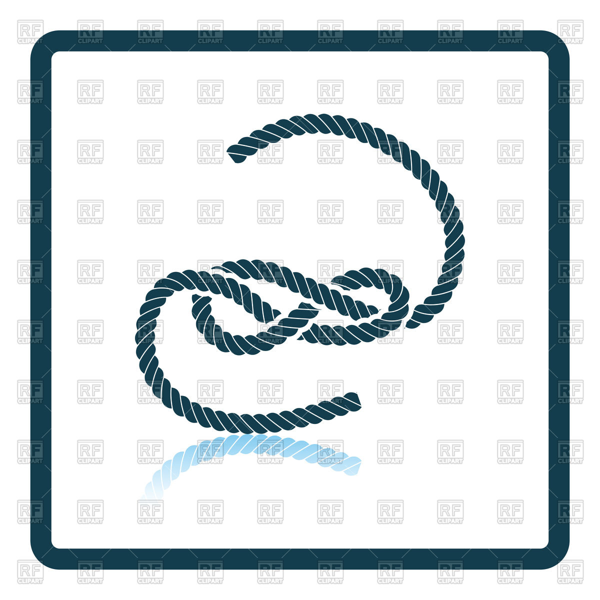 1200x1200 Icon Of Rope Knot Vector Image Vector Artwork Of Objects