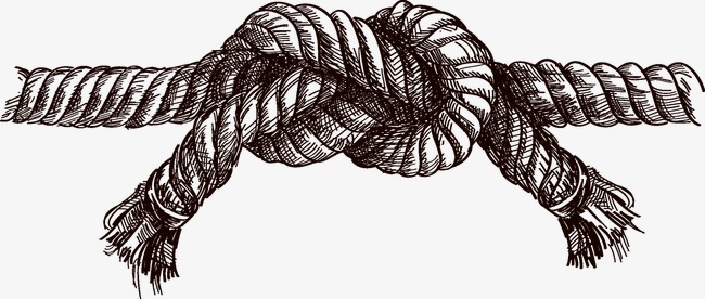 650x276 Drawn Rope Vector