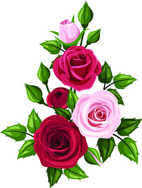 278x368 Beautiful Rose Border Design Free Vector Download (15,632 Free
