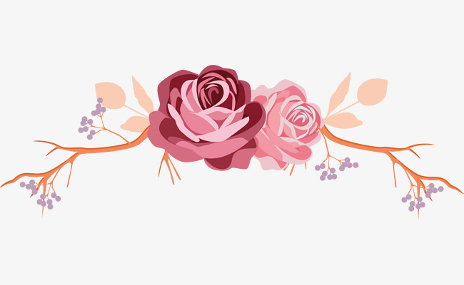 650x400 Rose Flower Rattan Label, Romantic, Valentineamp 039s Day, Hand