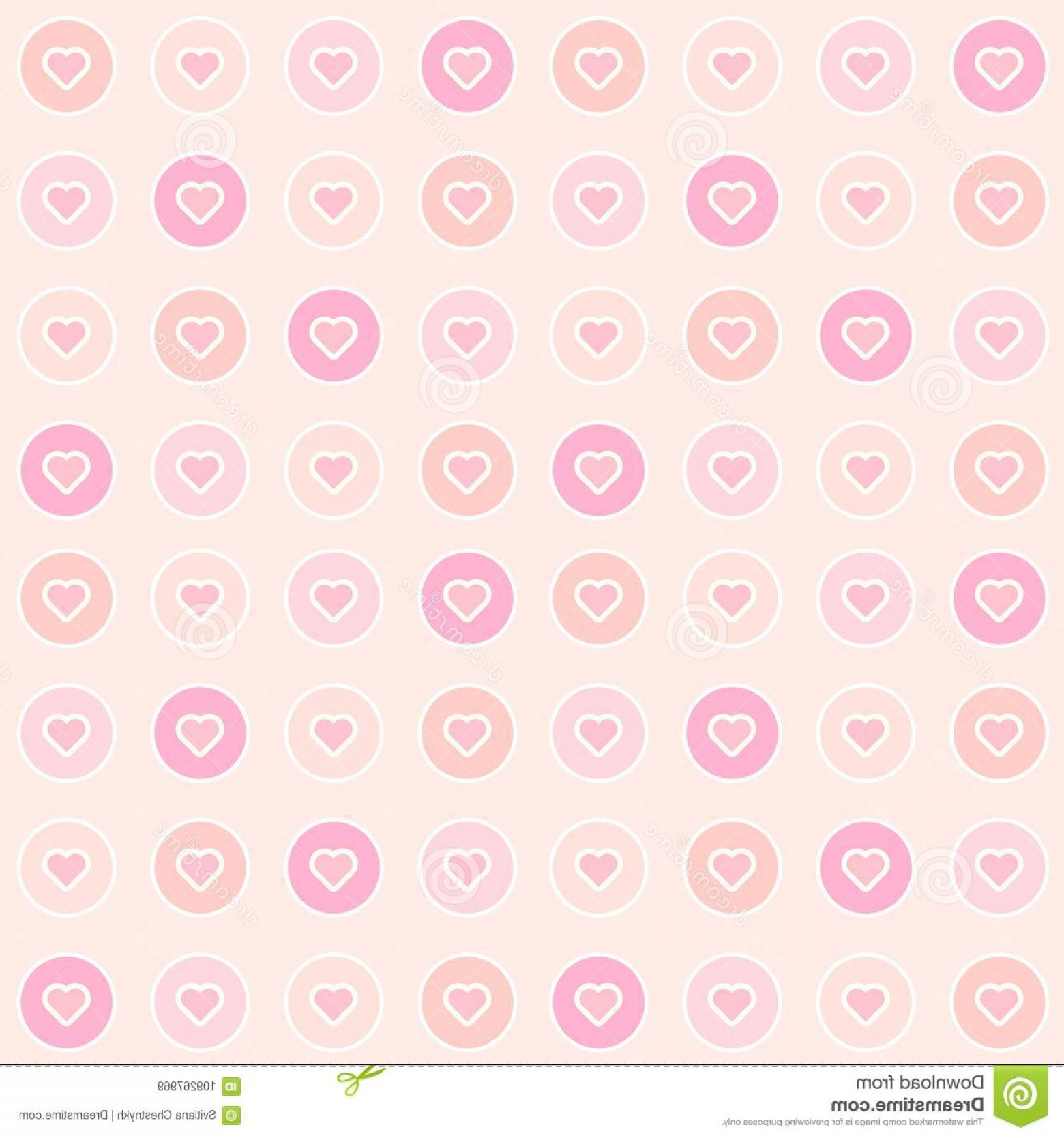 1560x1668 Cute Pink Hearts Seamless Pattern Blush Colors Abstract Geomeric