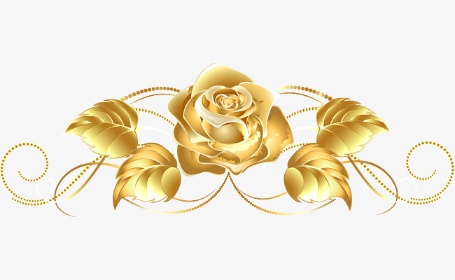 650x400 Golden Rose Png, Vectors, Psd, And Clipart For Free Download Pngtree