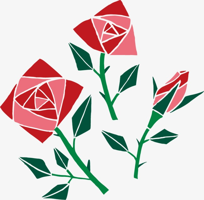 650x640 Red Rose Art Ornament, Rose Vector, Ornament Vector, Red Png And