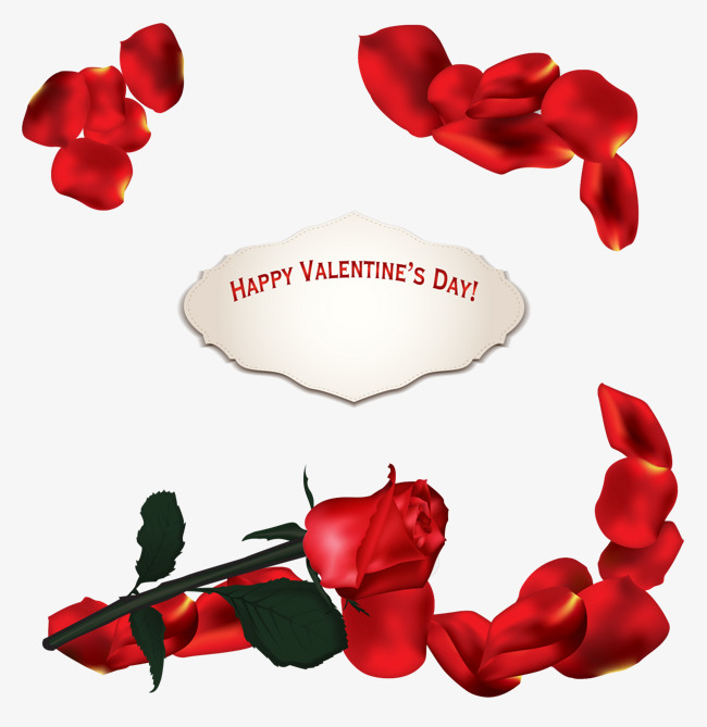 650x669 Rose Petals Vector, Petal, Red, With Thorn Rose Png And Vector For