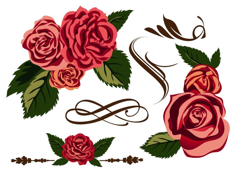 Rose Vector Art At Getdrawings Com Free For Personal Use Rose