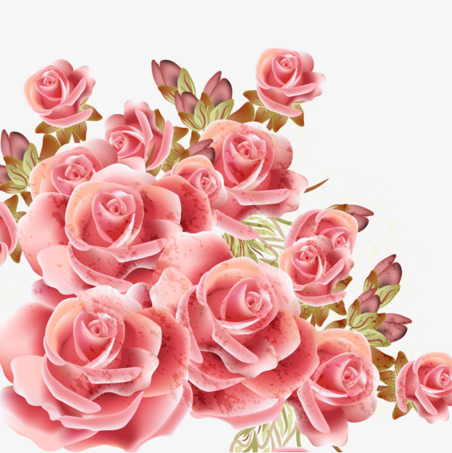 650x651 Vector Realistic Flowers, Red, Rose, Rose Vector Png And Vector