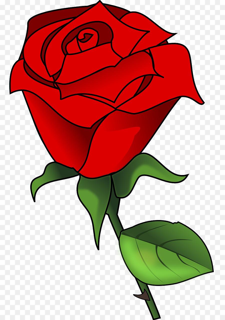 900x1280 Rose Clip Art