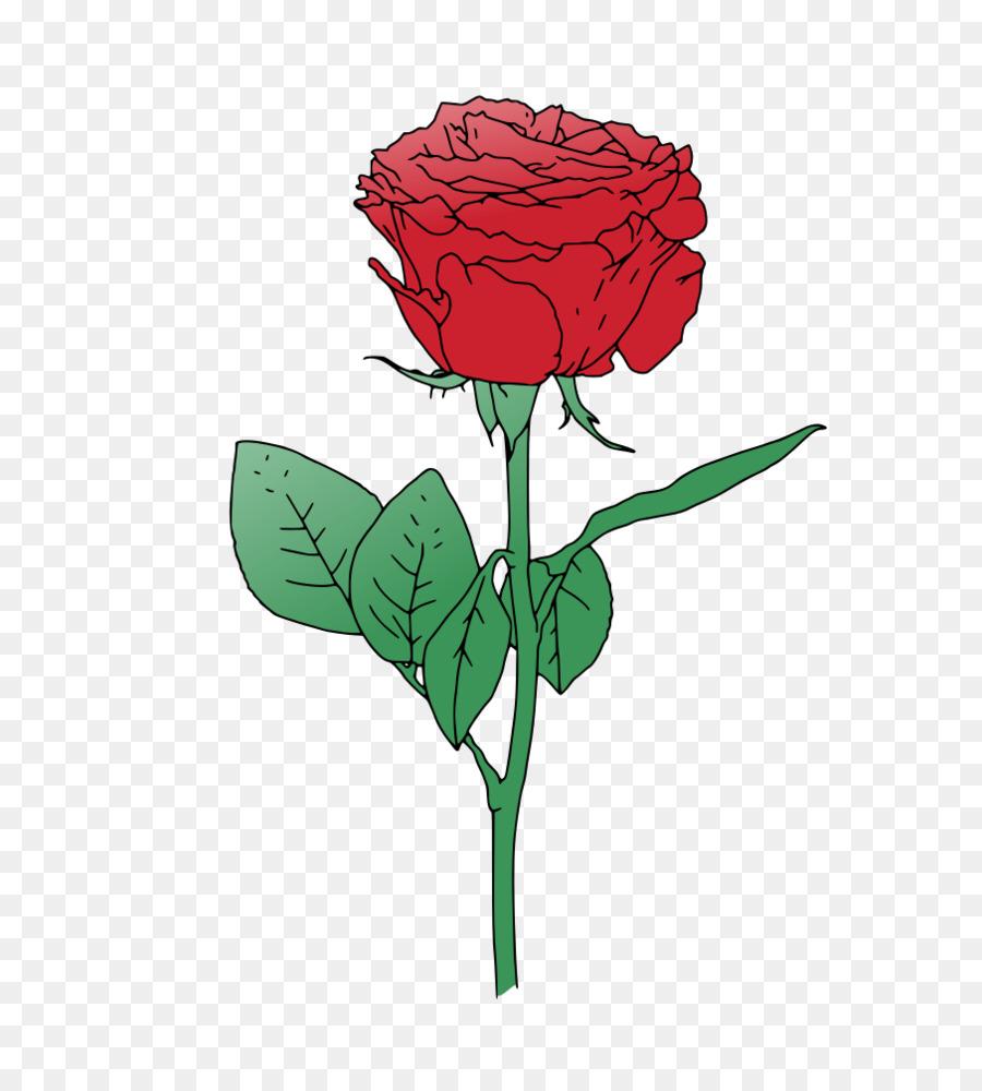 900x1000 Rose Flower Clip Art