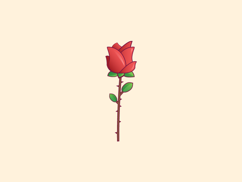 800x600 Rose Vector By Stefan Mihaylov