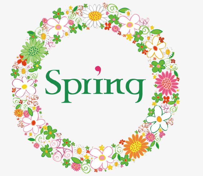 650x564 Spring Rosette Vector, Spring Vector, Spring, Flowers Png And