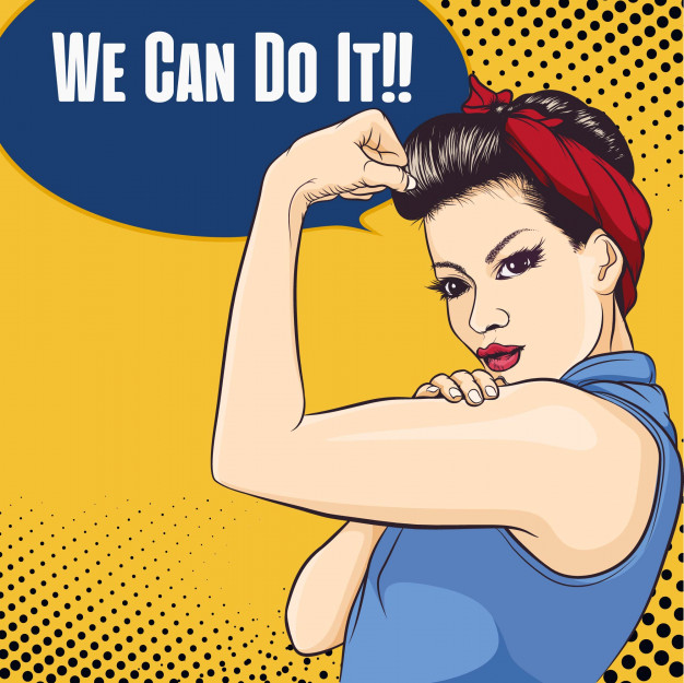 626x625 Results For We Can Do It Vector
