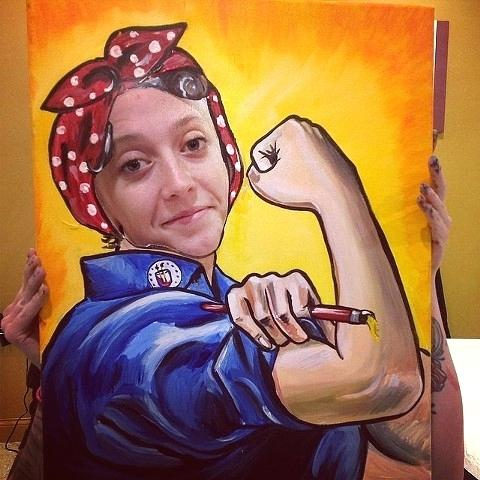 480x480 Rosie The Riveter Art The Riveter Mixed Media The Riveter We Can