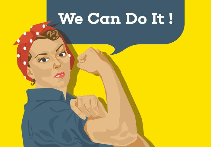 700x490 Vector Poster We Can Do It