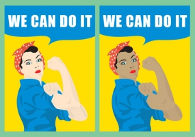 285x200 We Can Do It Free Vector Graphic Art Free Download (Found 843