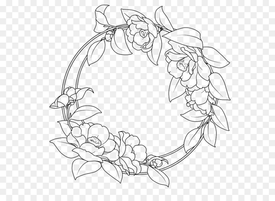 round border vector at getdrawings free for personal use round Spring Clip Art Borders 900x660 flower clip art