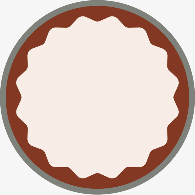 650x652 Round Label Vector Fabric Tag, Vector Fabric Tag, Fabric Label