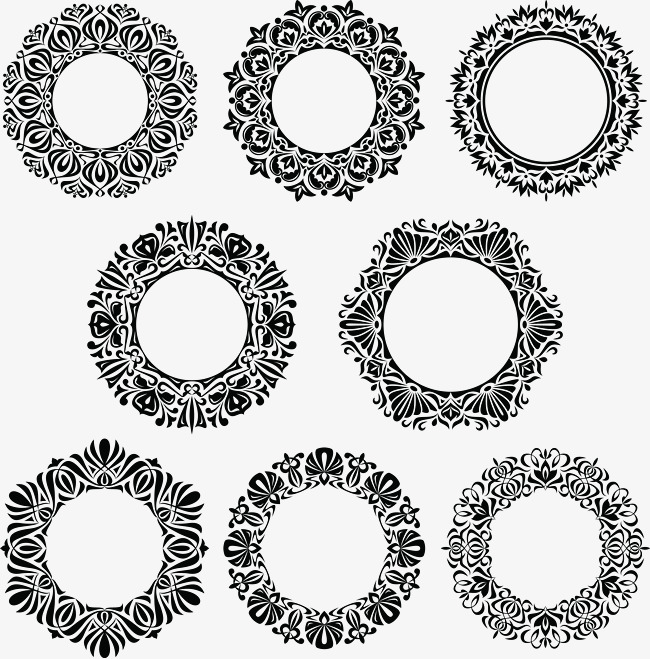 650x659 8 Circular Decorative Lace, Round, Lace, Decoration Png And Vector