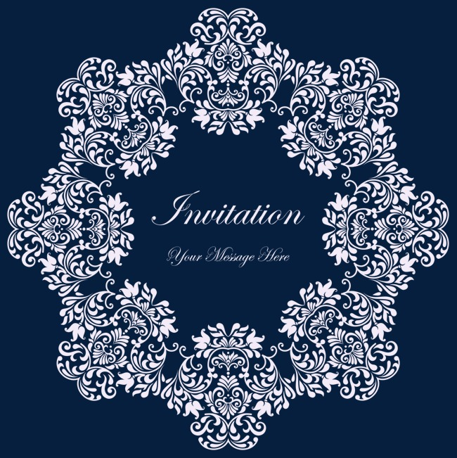 650x651 Round Lace Vector, Round Vector, Lace Vector, Light Color Png And
