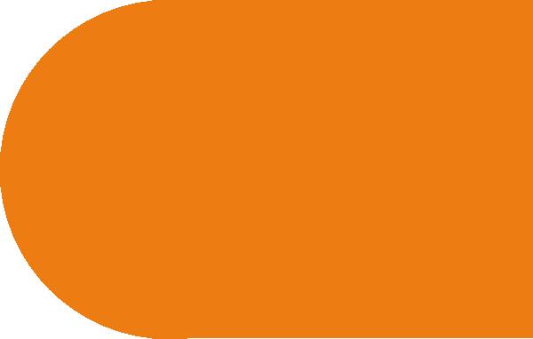 600x382 Rounded Rectangle Orange Clip Art
