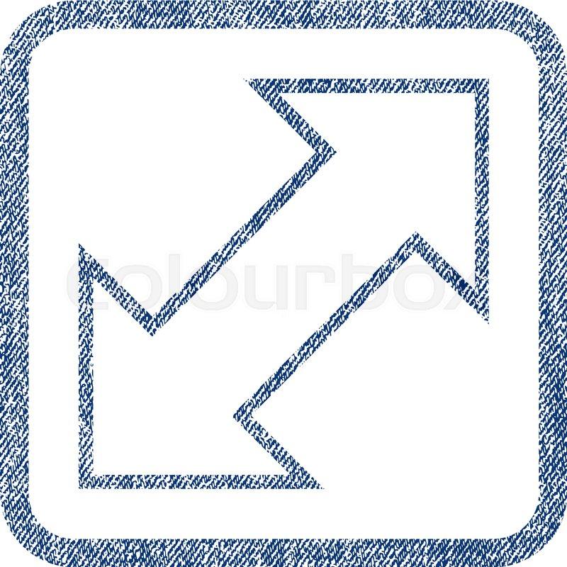 800x800 Exchange Diagonal Vector Textured Icon For Overlay Watermark