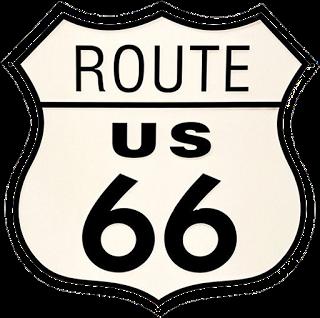 Route 66 Logo Vector
