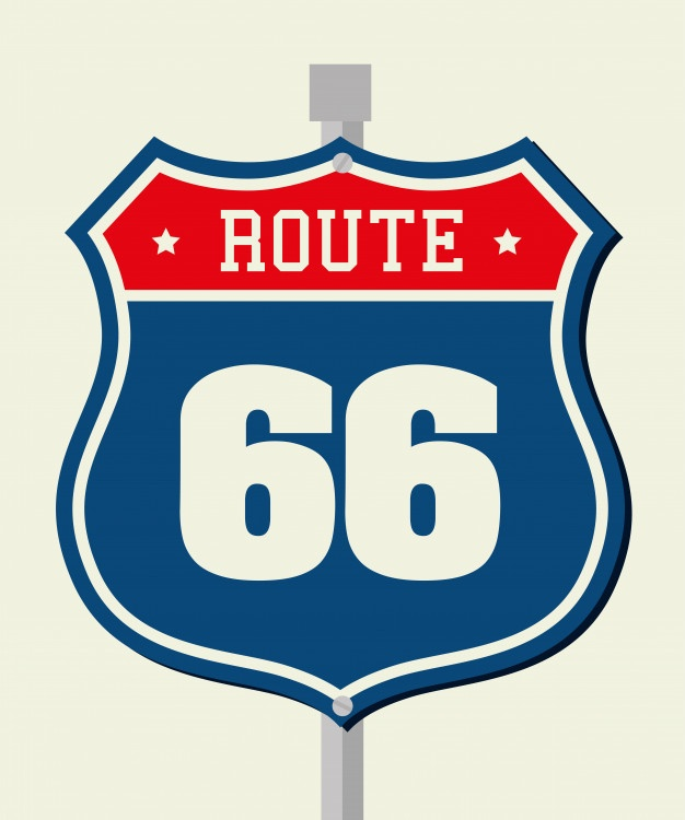 626x750 Route 66 Vectors, Photos And Psd Files Free Download