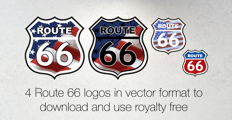750x390 4 Route 66 Logos In Vector Format To Download And Use Royalty Free