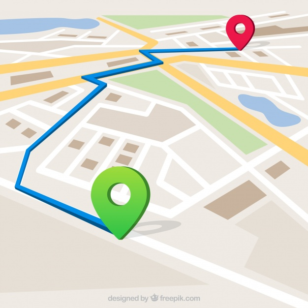 626x626 Route Map Vectors, Photos And Psd Files Free Download
