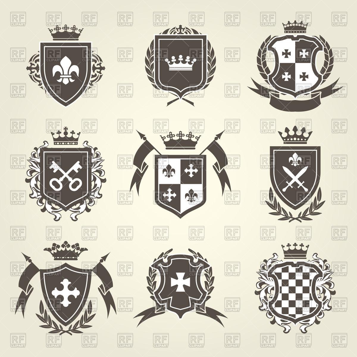 1200x1200 Shield Clipart Royal Crest