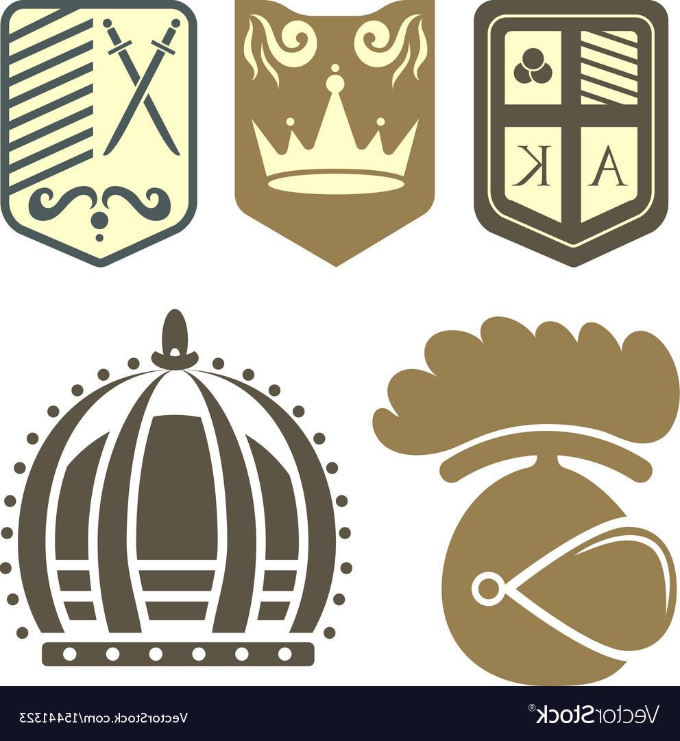 992x1080 Best Hd Heraldic Royal Crest Medieval Knight Elements Vector Design