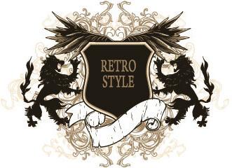 331x240 Vintage Heraldry Royal Crest Free Vector Download (6,824 Free