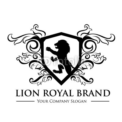 400x400 King Royal,crest Logo,lion Logo,king Logo,crown Logo,vector Logo