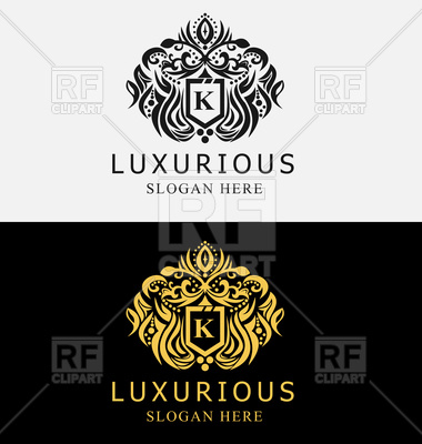 380x400 Luxurious Royal Crest Emblem Vector Image Vector Artwork Of