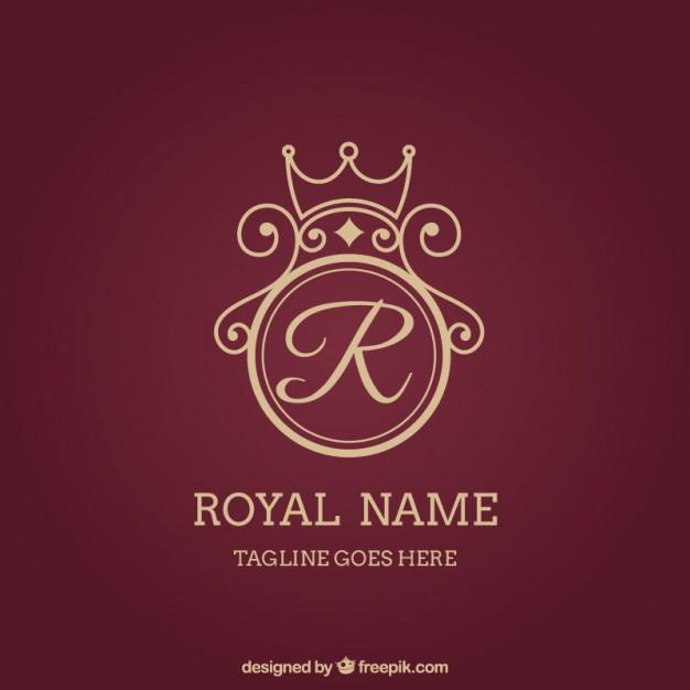 626x626 Royal Logo Vector Free Download