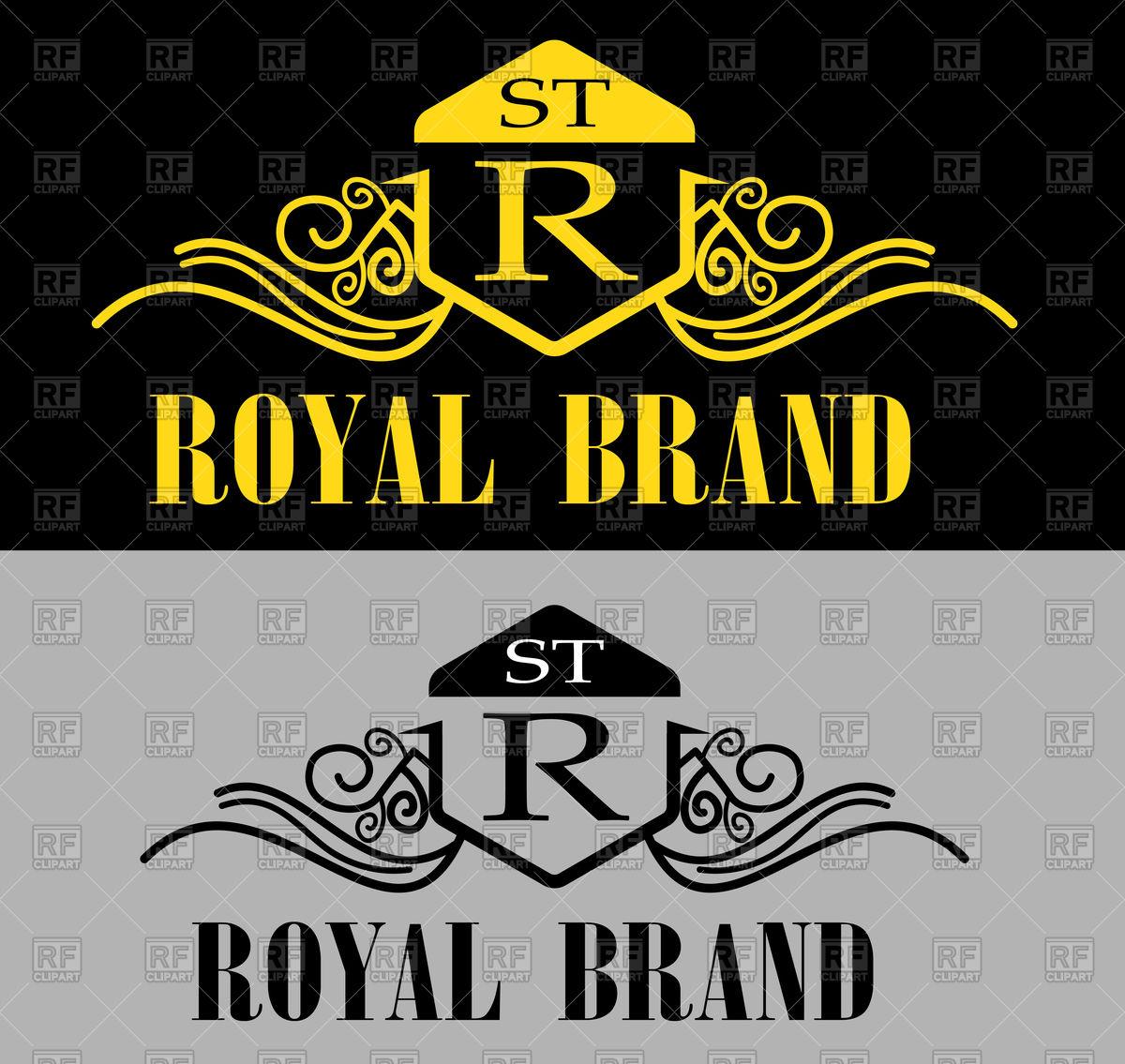 1200x1135 Royal Logo Vector Image Vector Artwork Of Icons And Emblems