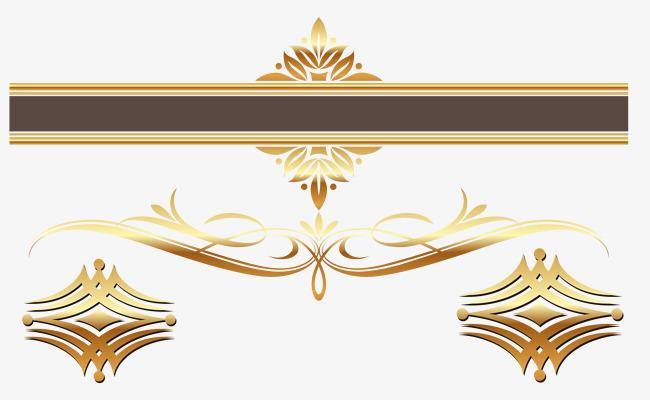 650x400 European Royal Title Box Decoration, Texture Border, European